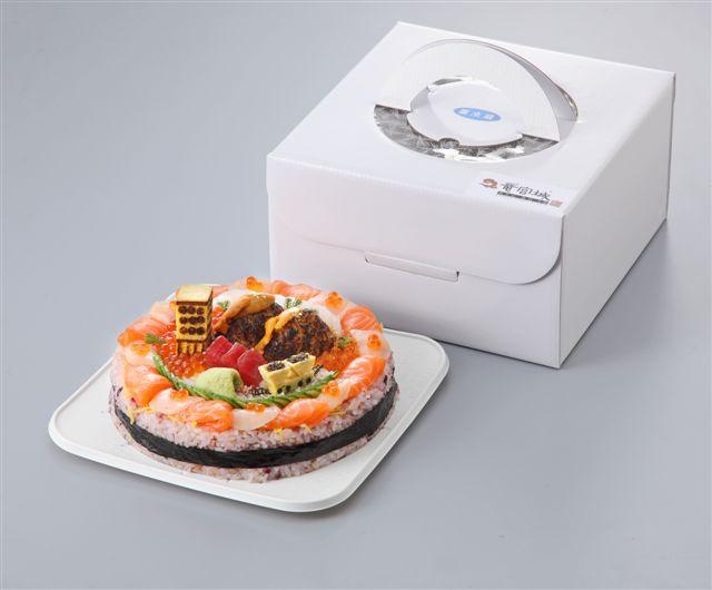 しめたもん寿司ケーキ